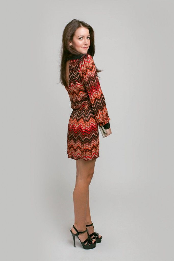 Sweater dress. Perfect for fall!