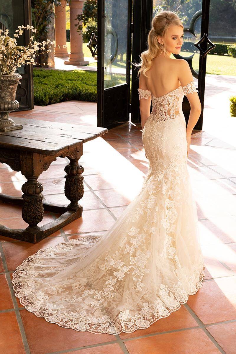 2376 wedding dress from casablanca bridal hitchedcouk