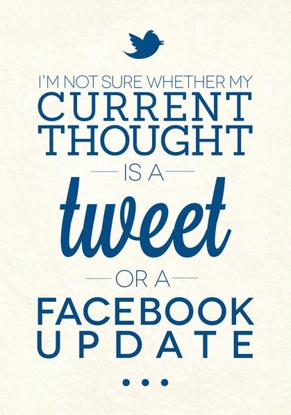 Social Media Humor | We love this daily dose of #socialmedia #humor from artist Paul Wormleighton