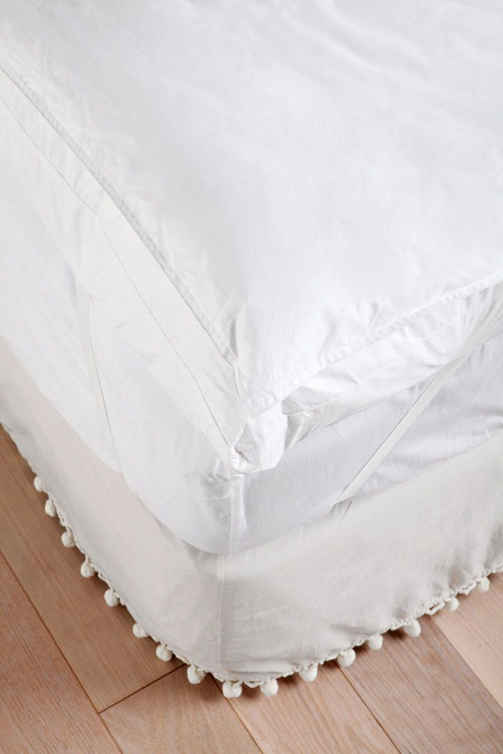 dual layer goose down mattress topper s t y l e at h o m e