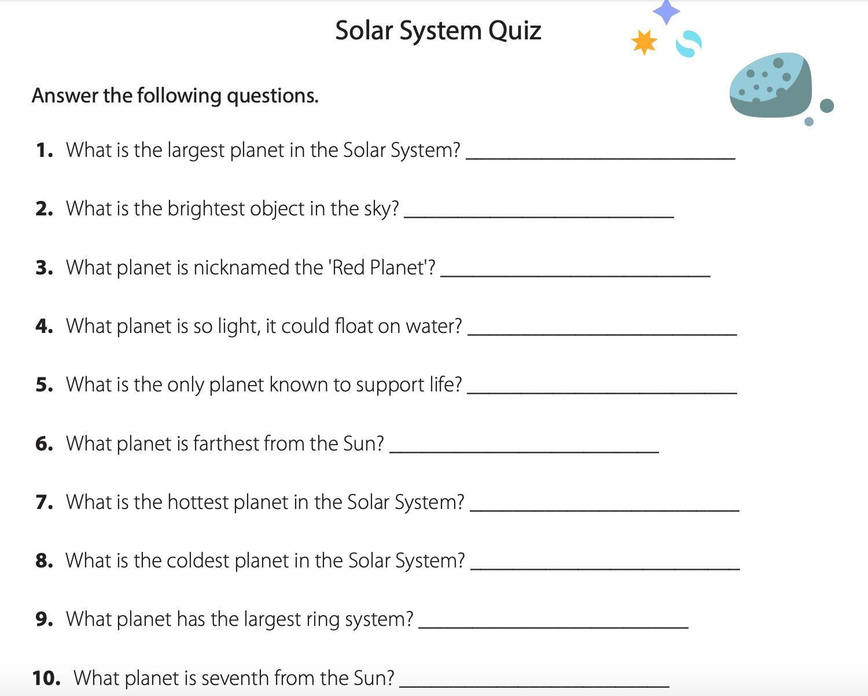 medium resolution of Free Printable Grade 8 Science Worksheets 3   Science worksheets