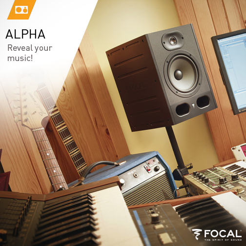 The new Alpha line now on sale! Discover without delay the new Focal #monitoring #speakers dedicated to #music creation for all musicians!