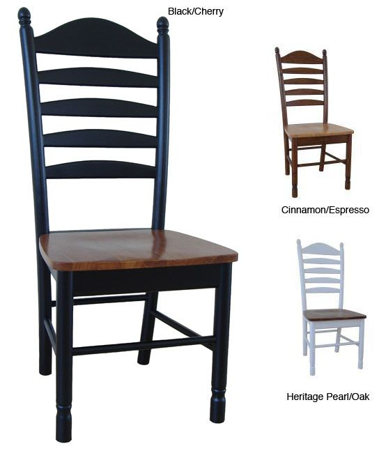 Dine In Comfort While Adding Style To Your Home With A Pair Of Beautiful  Solid Wood