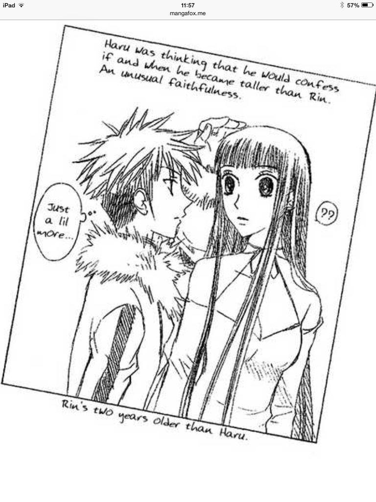 Rin to Haru Fruits basket anime, Fruits basket manga
