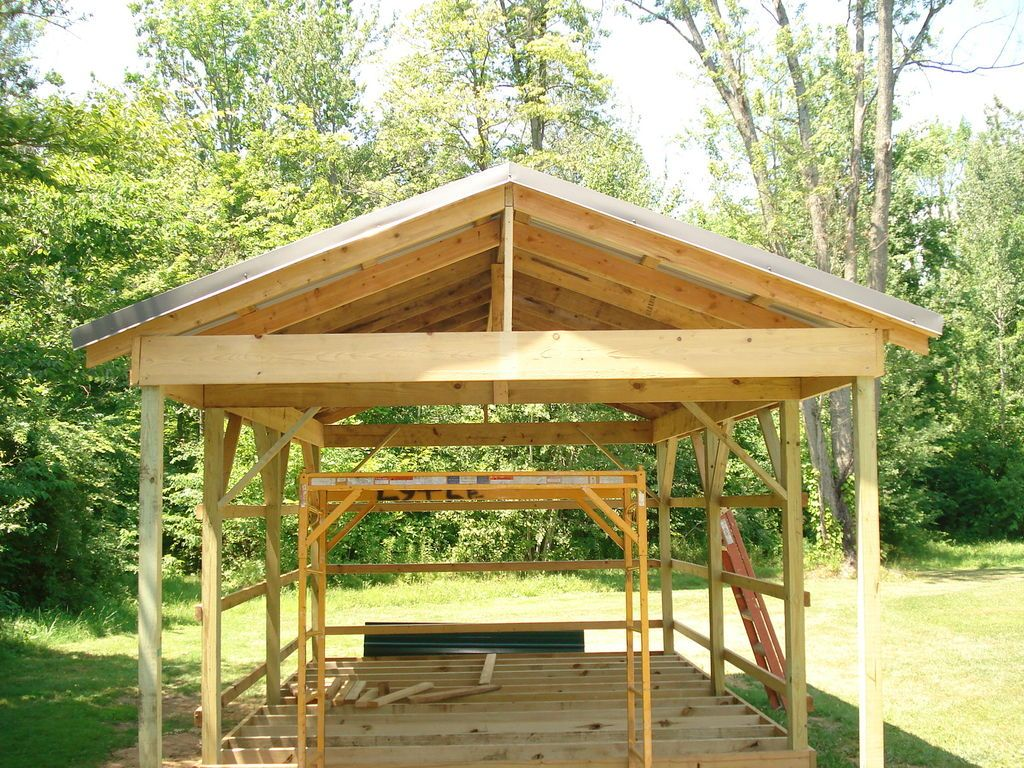 12x16 stick barn sheds pinterest barn pole barn for Pole barn cabin