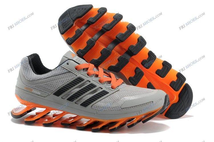 the best attitude 146fa e4751 Adidas Springblade Grey Black Orange Men s Athletics Running shoes adidas  trainers