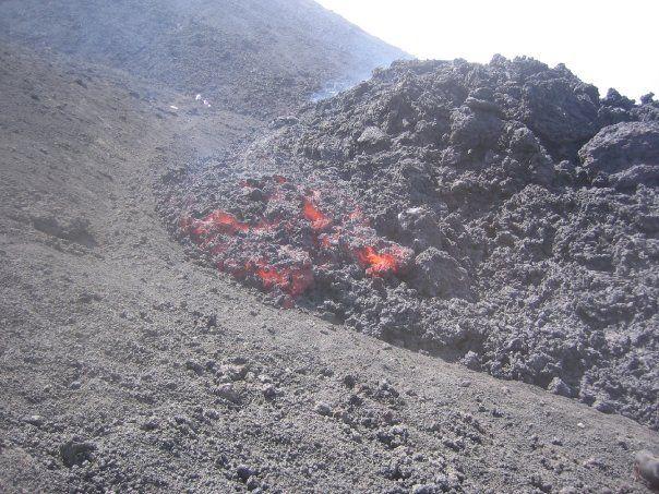 Un parque de volcán en Guatemala