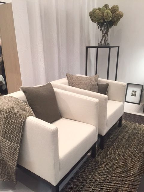 Pair of Patrick Chairs by Scapa Home. Upholstered ...