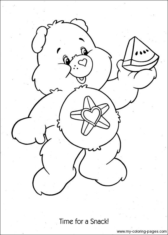 secret bear coloring pages care bears | Care Bears Coloring-078 | Care Bears Coloring Pages ...