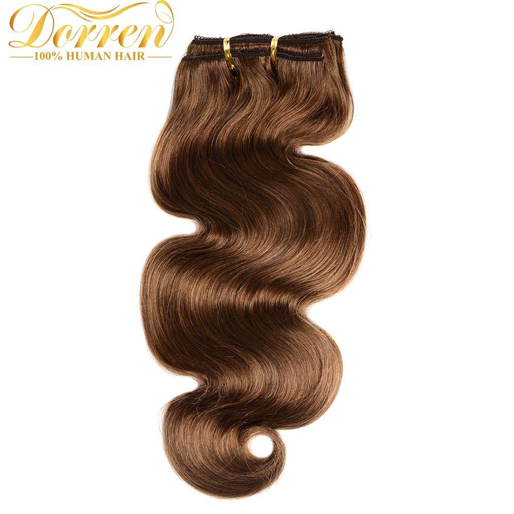 Doreen gram full head clip in human hair extensions brazilian wavy