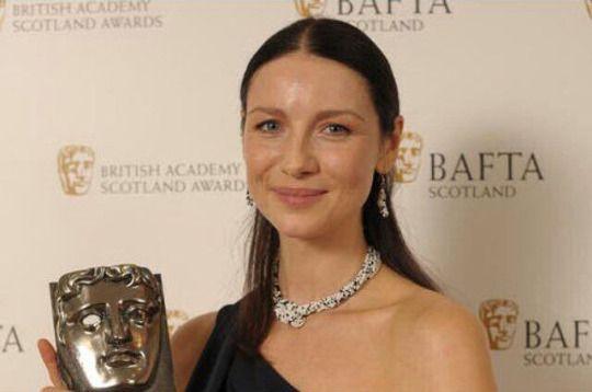 Caitriona Balfe winner of the BAFTA Scotland award for Best Actress