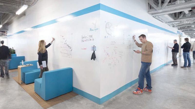Creative office entrances google search office halls for Office branding ideas