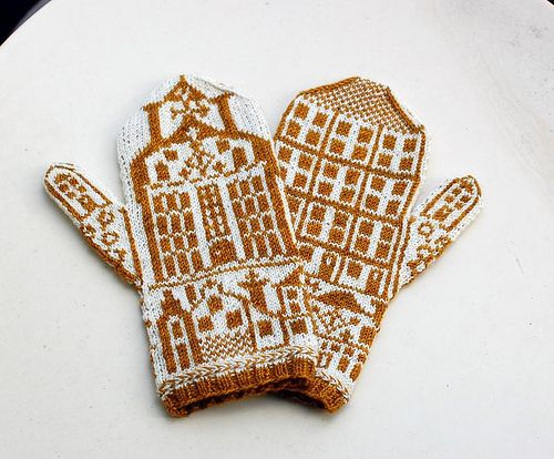 Mittens A Handful of Houses   Mittens, Fair isle pattern and Fair ...