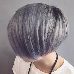 silver gray hair color shades  short hairstyle 2013