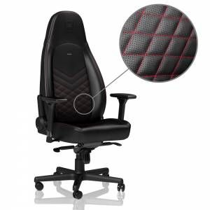 Gallery noblechairs ICON Gaming Chair   Black/Red is free HD wallpaper.