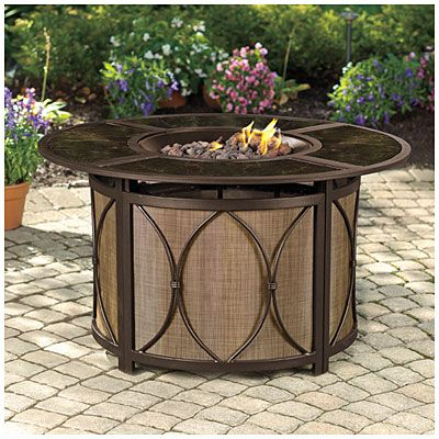 Wilson Amp Fisher 174 Riviera Gas Firepit At Big Lots
