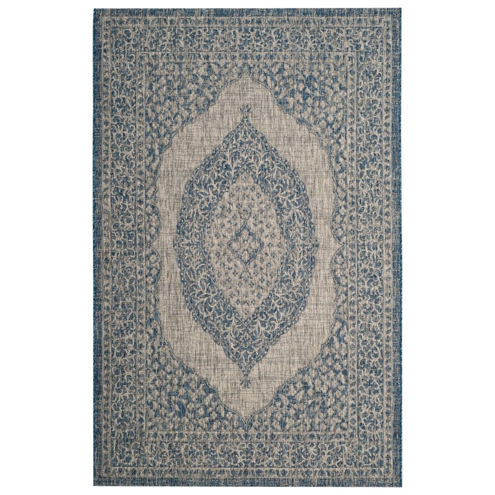 Pin By Target On Products Blue Grey Rug Indoor Outdoor Rugs Outdoor Rugs