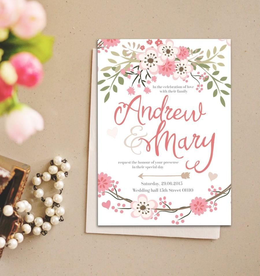printable wedding invitation templates free printable wedding