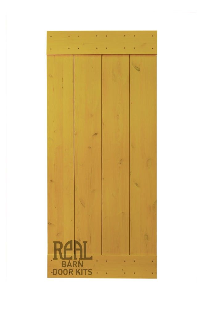 Real Sliding Hardware Real Barn Door Kit Rustic Alder