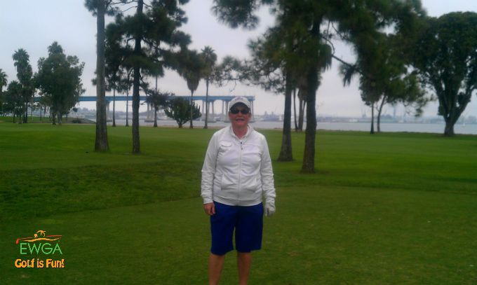 Submitted by Pat H, from EWGA San Diego, CA. In front of Coronado bridge in San Diego