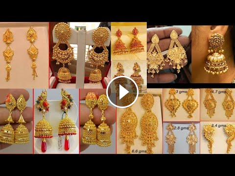e778d1f69e discount on latest gold earring design with price wedding jewellery also rh  pinterest