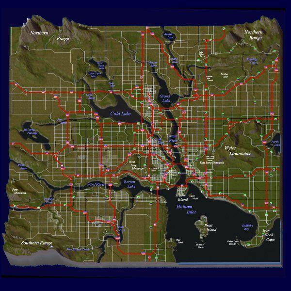 region transit layout