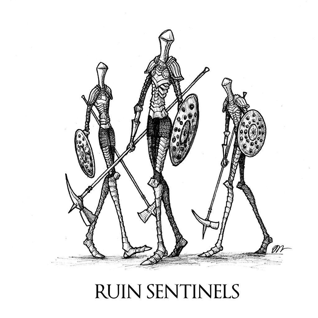 Dark souls ii ruin sentinels by skinrarb on deviantart