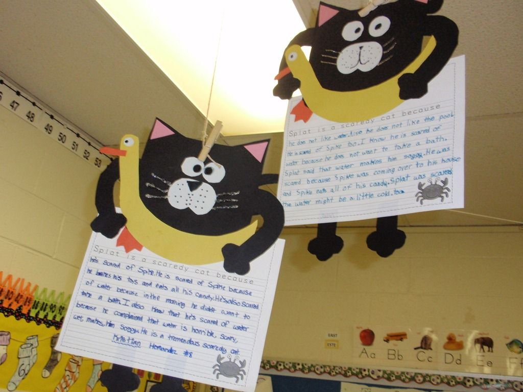 Splat The Cat Writing Activity Too Cute
