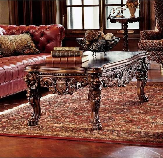 Old Fashioned Coffee Tables