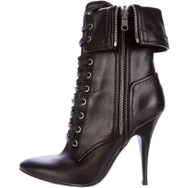 Pre-owned - Leather boots Giuseppe Zanotti X Balmain High Quality Sale Online Outlet Wide Range Of Sale How Much II3jStxIci