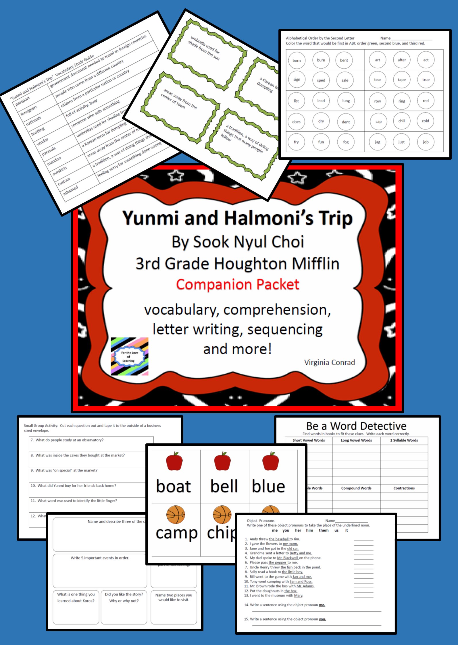 Yunmi And Halmoni S Trip 3rd Grade Houghton Mifflin