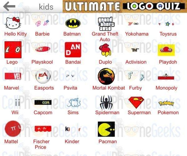 logo quiz kids