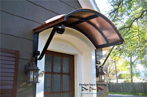 The Eyebrow Gallery COPPER AWNINGS Projects Gallery of Metal