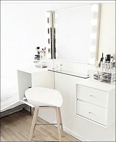 sminkebord Sminkebord | Home i 2018 | Pinterest | Bedroom, Girls bedroom og  sminkebord