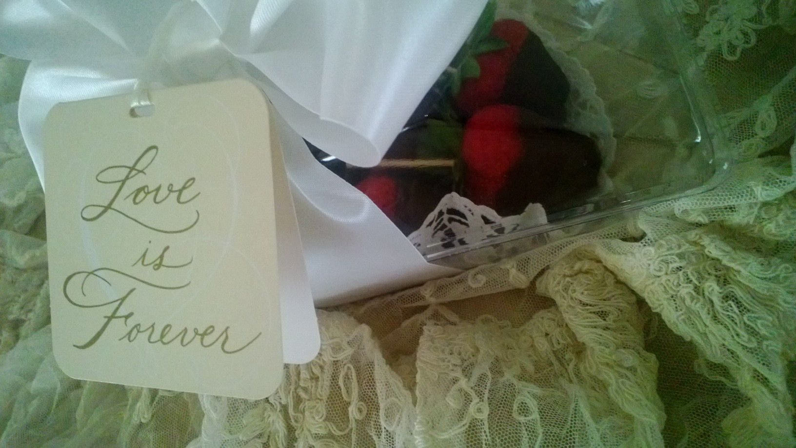 Chocolate Covered Strawberries at The Farmhouse Bed and