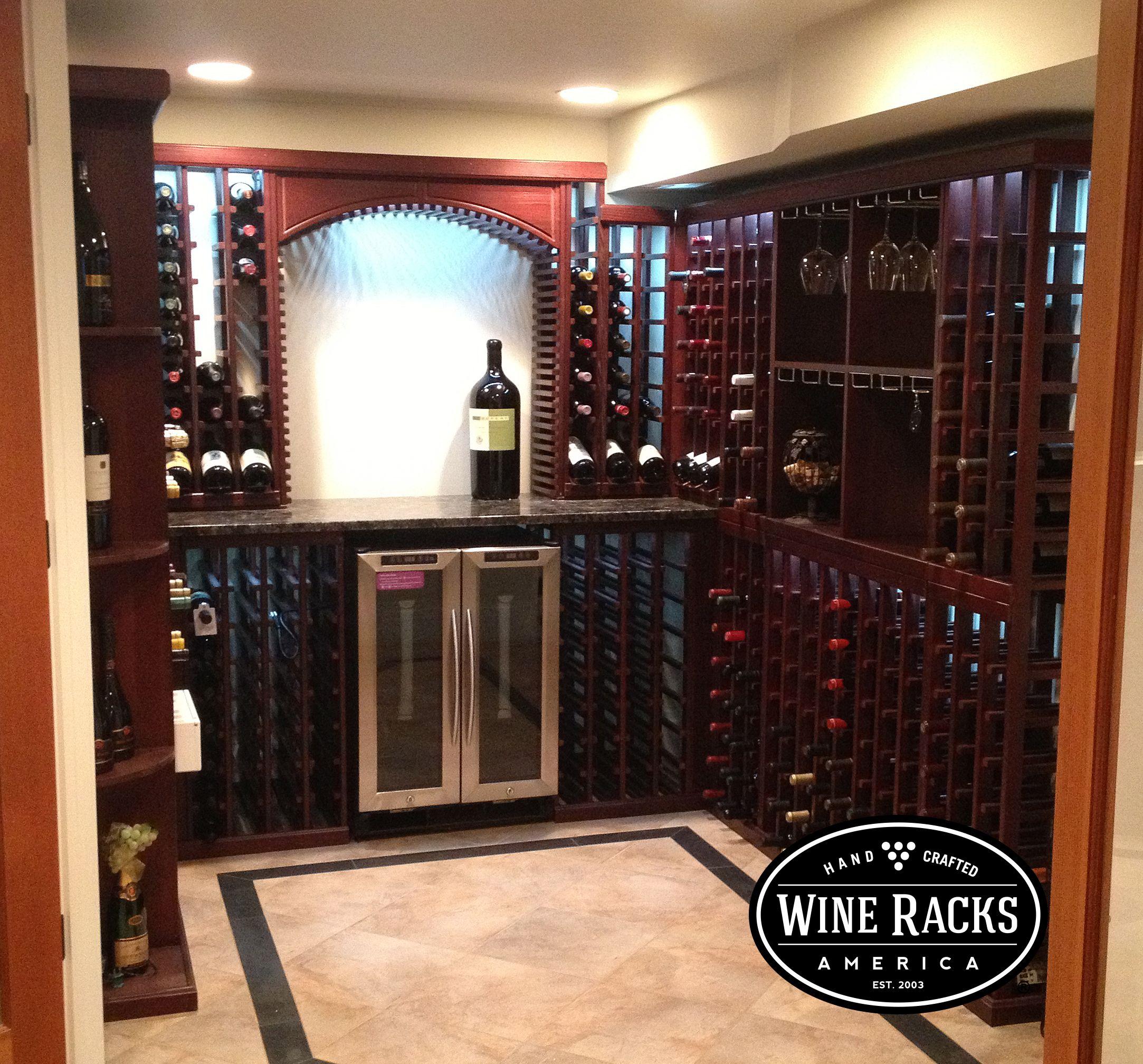 Wine Cellar Racks By Instacellar Build Your Own Wine Rack System With Diy Rack Kits Wine Racks America Wine Cellar Racks Wine Cellar Design Wine Cellar
