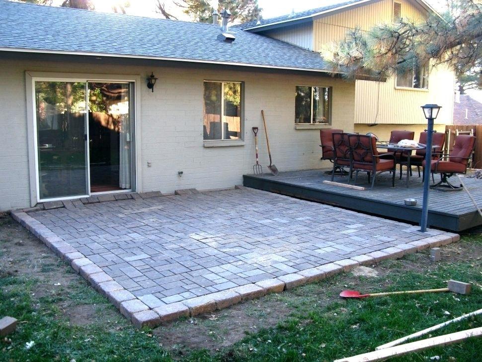 paver patio steps designs calculator edging landscape paving