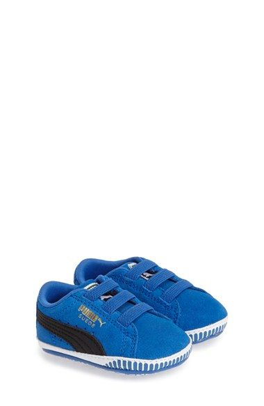 d10a02fa19bc PUMA Suede Crib Shoe (Baby   Walker) available at  Nordstrom ...