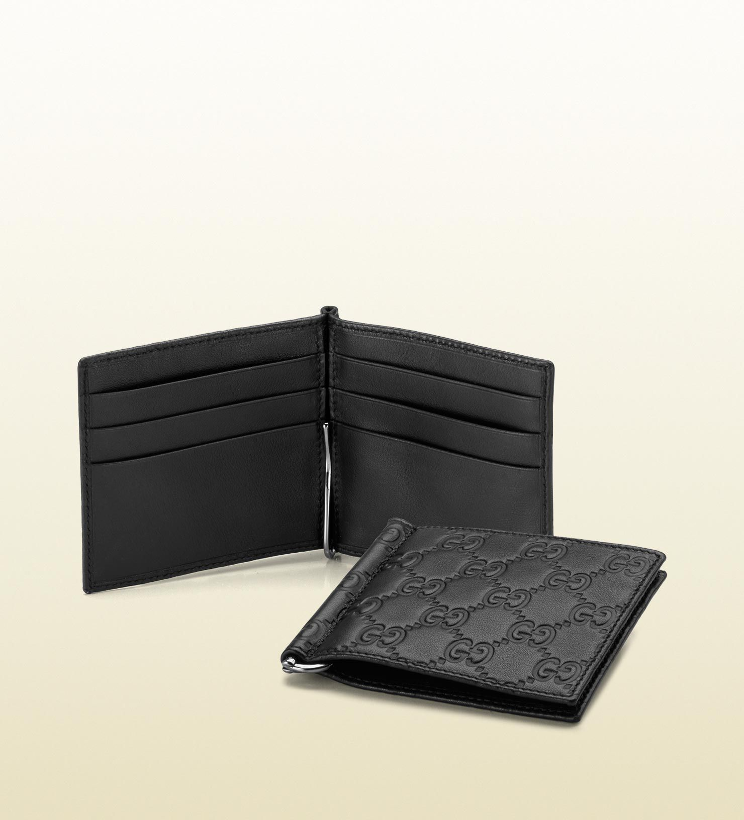 Guccissima Leather Money Clip Wallet Luxury Pinterest
