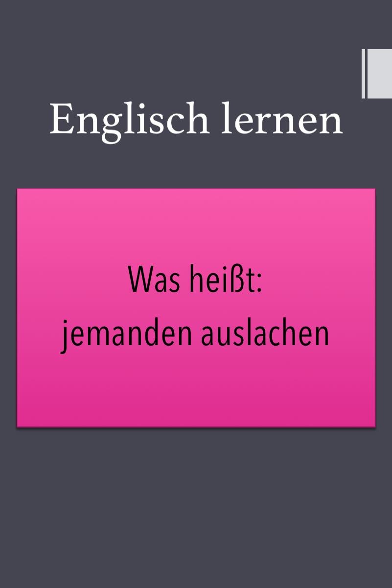 Lachen Englisch