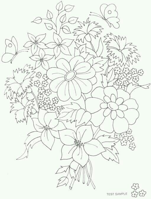 Pin by Barbara Głosek on hafty | Pinterest | Flower tattoos and ...