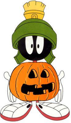 Halloween Looney Tunes Marvin Martian Cartoon Character Clipart Picture Image - I-Love-Cartoons.com