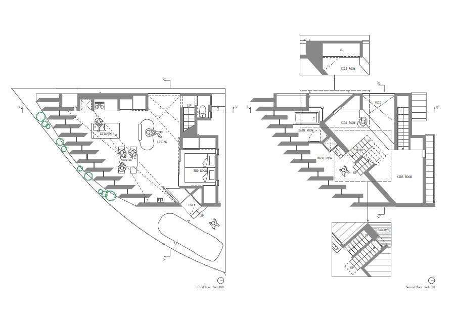 Triangle House Floor Plans | Triangle houses | Pinterest ...
