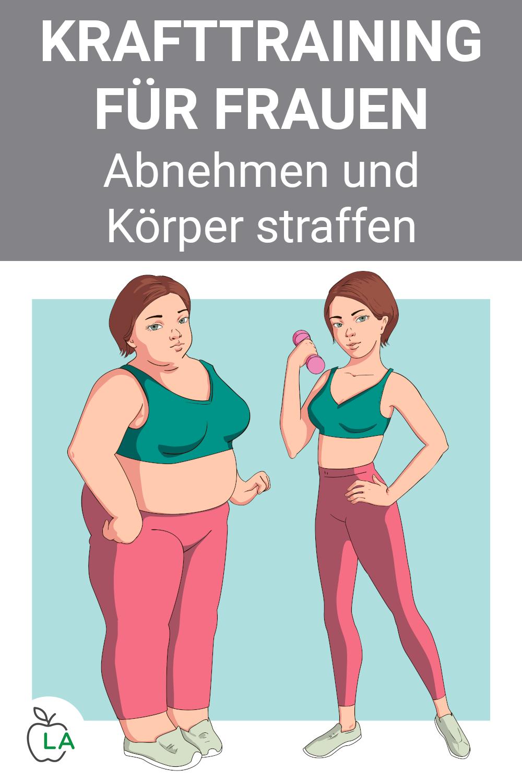 Krafttraining für Frauen – Abnehmen und Muskeln aufbauen mit diesem Trainingsplan