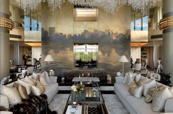 Candy And Candy One Hyde Park Penthouse Luxe Interiors Luxury Interior Interior Designers