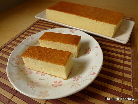 Castella cake boasts a fluffy and moist texture, and has