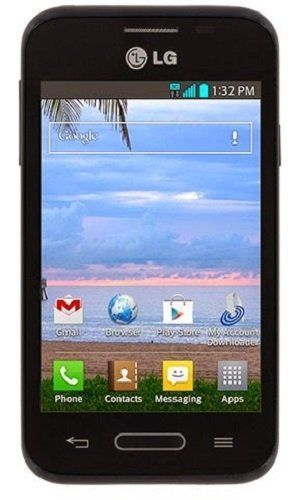 tracfone lg optimus fuel prepaid phone with triple minutes tracfone rh pinterest com