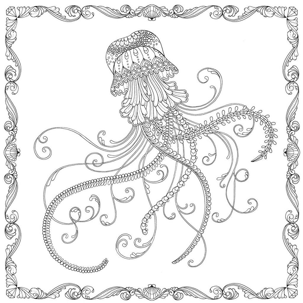 Increíble Medusas Realistas Para Colorear Ornamento - Ideas Para ...