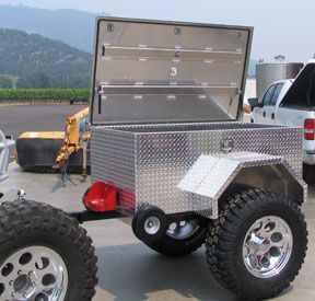 Small Trailers Made Of Alumium Off Road Trailers