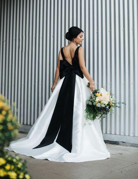 Artistic, Edgy + Modern Rainy Day Wedding | Green weddings, Wedding ...